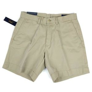 Polo Ralph Lauren Mens Shorts Size 31 Hudson Tan